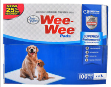 """New listing Four Paws 100 count Wee Wee Pads - 22"""" x 23"""" - Brand New - Free Shipping"""