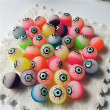 200pcs/lot 2.5cm Eyes Rubber Bouncing Bouncy Balls Jumping Outdoor Sports Toys