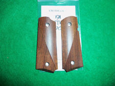 Grips - 1911,Compact Model, Caribbean Rosewood, Tactical, Kim Ahrends