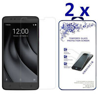 2-Pack For Coolpad REVVL Plus Tempered Glass Screen Protector