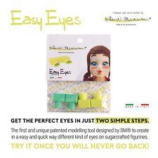 Easy Eyes Green - Girl for Sugar Models by Silvia Mancini Purple Cupcakes