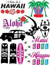 91 Hawaii Vector Clipart for Vinyl Cutter