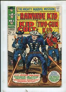 THE MIGHTY MARVEL WESTERN #1 - A PLACE TO HIDE! - (6.0) 1968