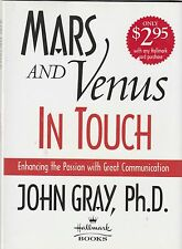 Mars and Venus in Touch by John Gray (2000, Hardcover)