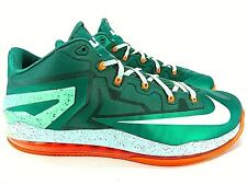 Nike Air Max 360 Lebron XI 11 Low Mystic Green Shoes 642849-313 Men's Size 13