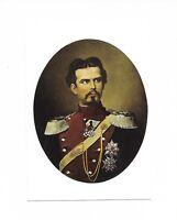 AK, Künstlerkarte, Ludwig II. mit ordensgeschmückter Brust