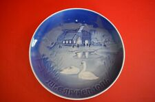 Village Christmas 1974, Bing & Grondahl Christmas plate des by Henry Thelander