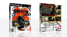 Marc Ecko's Getting Up PS2 Reproduction Game Case Box + Cover Art Work (No Game)