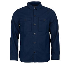 Barbour Men's Navy Thermo Overshirt Jacket $180