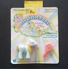 My little Pony, G-1, Baby Sunribbon new in package from 1990