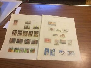 Australia X 2 Used Stamps Psart Sheets