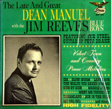 LATE & GREAT DEAN MANUEL - WITH JIM REEVES BLUE BOYS - STARDAY LP - SHRINK WRAP