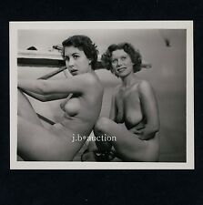 Amazed NUDE women/surprit des femmes nues * vintage 60s us photo