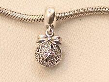 New Sterling Authentic Pandora Black Friday Christmas Wish Charm Bead USB792700