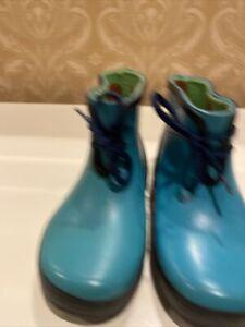 NEW Celavi Blue Toddler Size 7 (23) Rain Boots