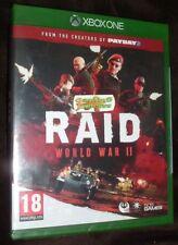 Raid World War II 2 XBOX ONE XB1 NEW SEALED FREE UK Delivery