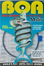 Malin NK-20-25-30-35 BOA No-Kink Titanium Leader Metal Shock Wire stretchable