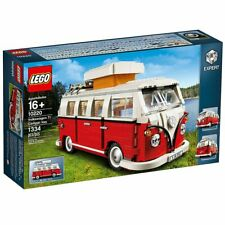 Lego® 10220 Volkswagen VW T1 Camper Van Rot/Weiß VW Bulli Bausatz 1334T. NEU/OVP