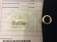 BVLGARI/BULGARI B. ZERO 1 One-Band 18 KT ANELLO ORO BIANCO.