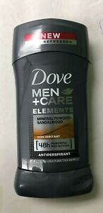 Dove MINERAL POWDER & SANDALWOOD Antiperspirant Stick, 2.7 oz, ( Pack of 6 )