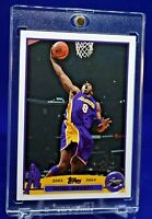 KOBE BRYANT TOPPS 2003-04 LEBRON JAMES RC YEAR DRYING UP BEAUTY LAKERS SP RARE