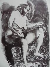 Renato Guttuso Litografia 50x70 Marzabotto Prova d'artista