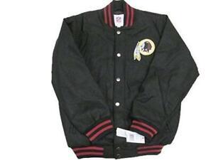 Washington Redskins Mens Size M L XL or 2XL Snap Front Wool Blend Jacket ARDK 61