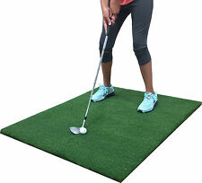 "Backyard Golf Mat 36"" x 36"" Pro Residential Practice Golf Chipping Fairway Mat"
