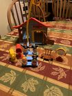 Vintage 1976 Hasbro Weebles Wobble Mickey Mouse Club House and accessories