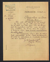 LE HAVRE-BASSINS (76) CHEMIN de FER de l'ETAT à ARGENTON-sur-CREUSE (36) en 1914