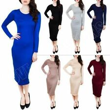 Full-Length Stretch, Bodycon Regular Size Dresses for Women
