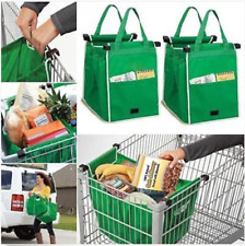 Reusable Shopping Bags Eco Foldable Trolley Tote Grocery Cart Storage Grab Bag