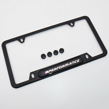 For M Performance License Frame Plate Cover Stainless Steel 82-12-0-010-404