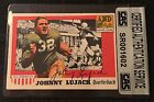 JOHNNY LUJACK 1955 TOPPS ALL AMERICAN SIGNED AUTOGRAPHED CARD #28 CAS AUTHENTIC