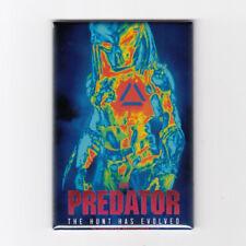 "THE PREDATOR / HUNT HAS EVOLVED - 2"" x 3"" MOVIE POSTER MAGNET (2018 horror scifi"