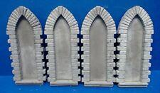 1/35 Scale Diorama Accessories  4 Small  Church Windows  Surround