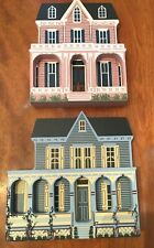 Shelia's Collectibles Shelf Sitters Cape May Gothic and The Victorian Rose 1992