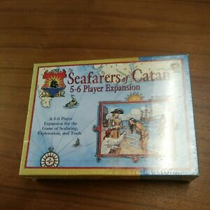 The Seafarers of Catan 5-6 Player Expansion 1999 Sealed 492 version