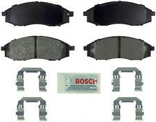 Disc Brake Pad Set-Blue Brake Pads with Hardware Front Bosch BE830H