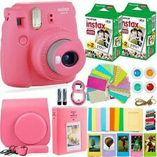 Fujifilm Instax Mini 9 Camera with 40 Sheets and Accessories