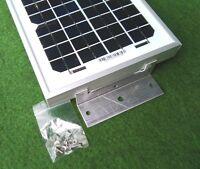 5w 5 watt solar panel + bracket kit suit camper van motorhome caravan beach hut