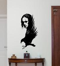 The Crow Wall Decal Brandon Lee Movie Vinyl Sticker Poster Home Decor Art 270hor