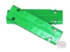 LEGO Technic - 2 x Panel Plate - 11 x 3 - Green - New - (NXT, EV3, Skin)