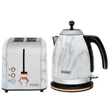 Blaupunkt Marble Effect Kettle And Toaster BREAKFAST SET With Copper Lining WOW!