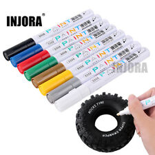 2PCS 8 Color Tire Paint Marker Drawing Pen Tool for RC Car Crawler Axial Traxxas