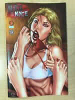 Notti & Nyce #1 Anastasia's Collectibles NICE Variant Cover by Marat Mychaels