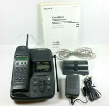 Sony Spp-A967 Digital 900Mhz Cordless Phone Answering Machine w/ Box Tested