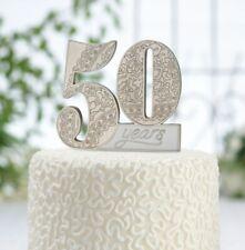 50th Anniversary Cake Pick