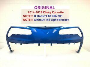 2014 2015 2016 2017 2018 2019 chevy corvette rear bumper cover laguna blue #1