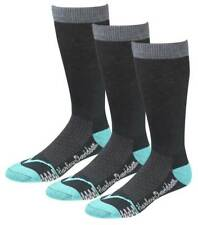 Harley-Davidson Women's CoolMax Performance Rider Socks (Teal, Med), 3 Pairs